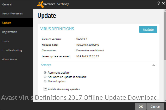 Avast Virus Definitions 2017 Offline Update Download