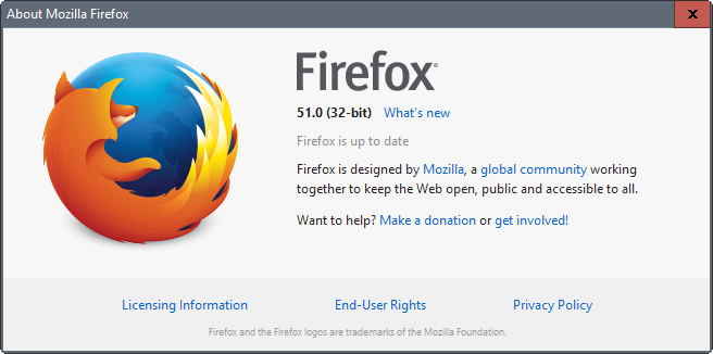 Download Firefox 51.0 Latest Version 2017
