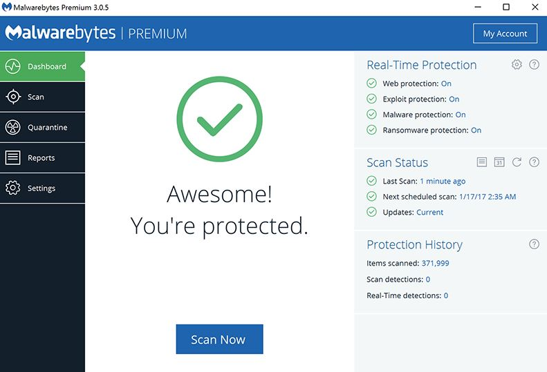 Download Malwarebytes 3.0.6.1469 Latest 2017