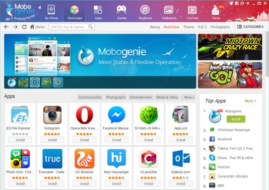 Download Mobogenie APK Latest Version 2017