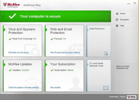 McAfee Antivirus 2017 Download