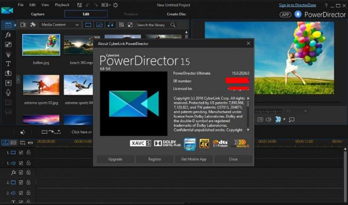 Cyberlink PowerDirector 15 Free Download 2017