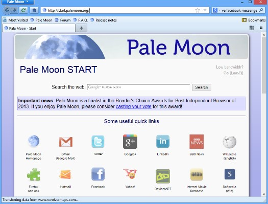Download Pale Moon 27.1.1 Latest Version