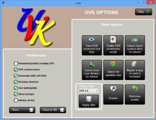 Download UVK Ultra Virus Killer 10.3.8.0